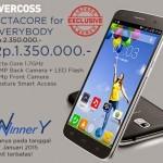 Evercoss Winner Y A76, Smartphone Dengan Prosesor Octa-Core
