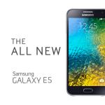 Samsung Galaxy E5, Smartphone Android Kitkat Berlayar Super AMOLED