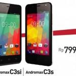 Smartfren Andromax C3S dan C3Si, HP Android Murah Dengan Kamera 5 MP