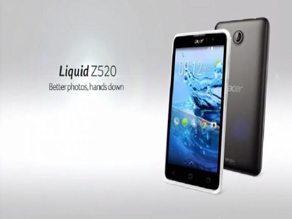 Acer Liquid Z520, Smartphone Sejutaan Berlayar 5.0 Inch Quad-Core
