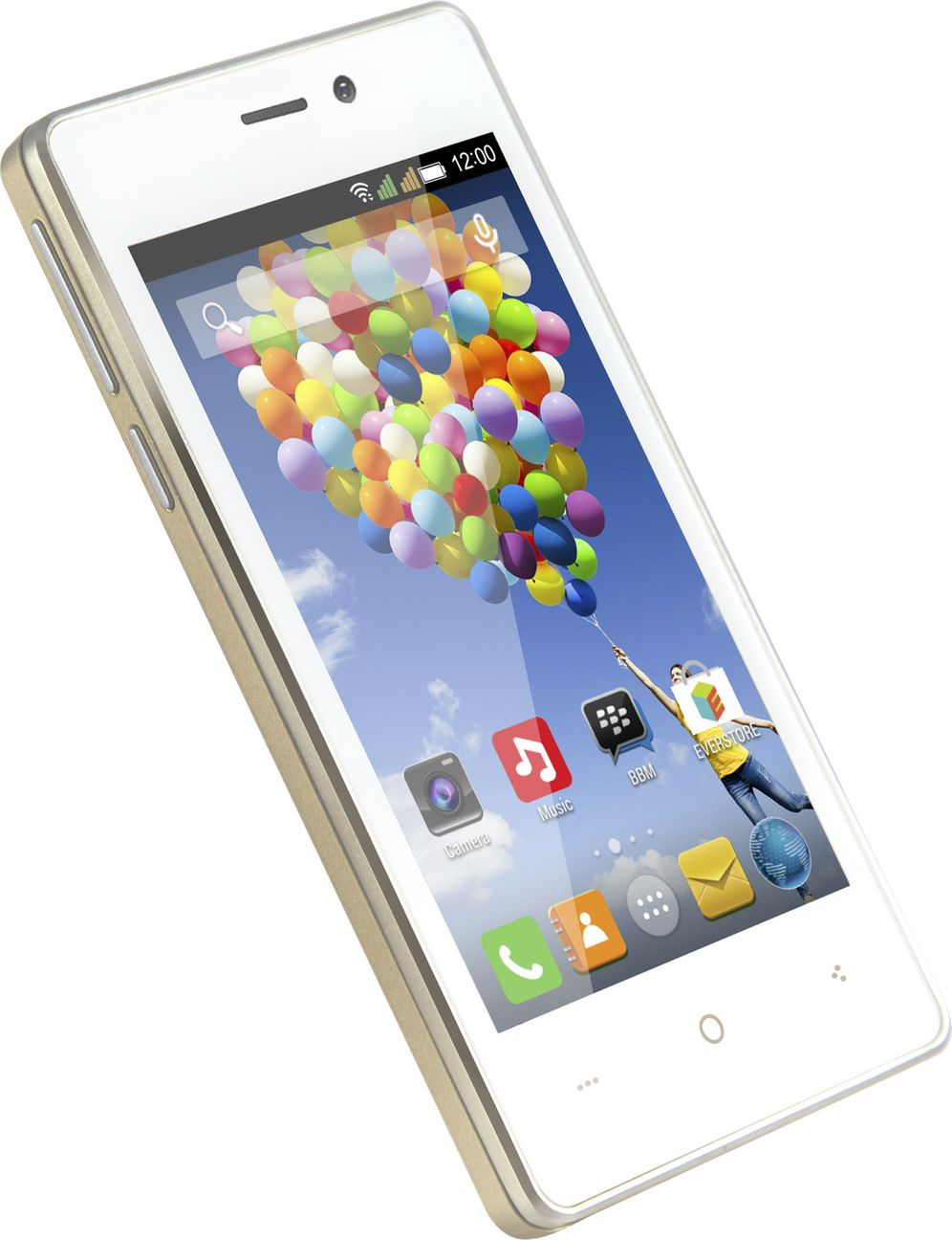 Evercoss Winner T A74A HP Android 4 Inchi RAM 1 GB