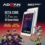 Advan Barca Tab Pro 7, Tablet Game Layar 7 Inchi Prosesor Octa-Core