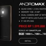 Smartfren Andromax R, Smartphone 4G LTE Sejutaan Layar 5 Inchi