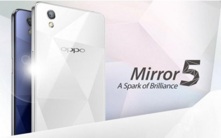 Spesifikasi Oppo Mirror 5
