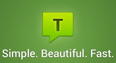 Aplikasi SMS Android Textra SMS