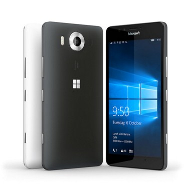 Microsoft Lumia 950, Smartphone Layar 5.2 Inchi Resolusi QHD Kamera 20 MP