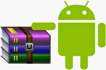 cara membuak file RAR di Android