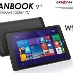 Advan Vanbook W90, Tablet Windows Sejutaan Baterai 6000 mAh