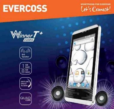 Evercoss Winner T+ A74E, Smartphone 600 Ribuan Terbaru 2016