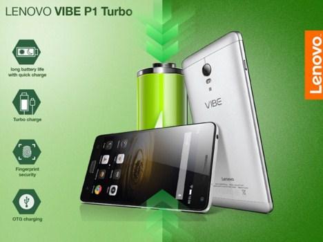 Lenovo Vibe P1 Turbo, Smartphone RAM 3 GB Baterai Tahan Lama 5000 mAh