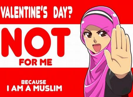 Gambar DP BBM Say No To Valentine Atau Menolak Valentine