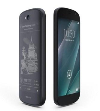 YotaPhone 2, Smartphone Unik Dengan Dua Layar Depan - Belakang