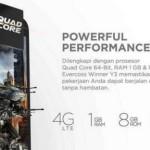 Evercoss Winner Y3, Smartphone 4G Murah Layar 5 Inchi Satu Jutaan