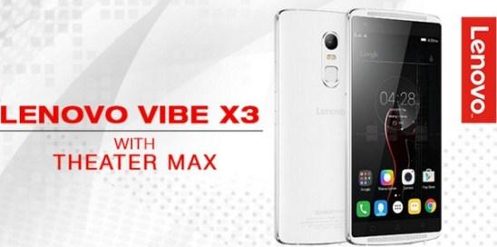 Spesifikasi dan Harga Lenovo Vibe X3