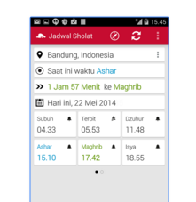 Aplikasi Jadwal Sholat