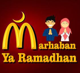 DP BBM Lucu Marhaban Ya Ramadhan