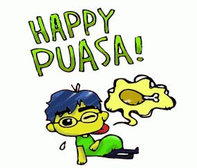 DP BBM happy puasa unik