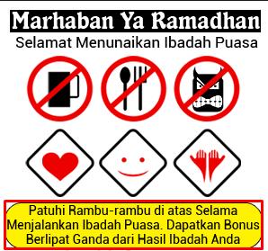 Gambar Unik Menyambut Ramadhan