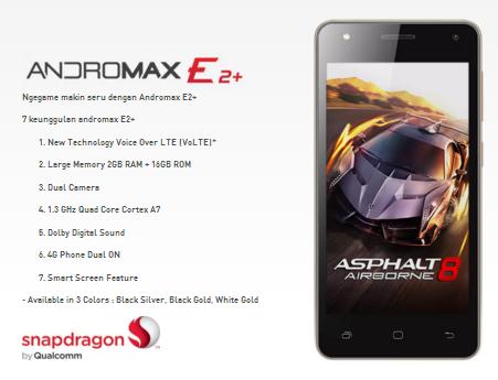 Smartfren Andromax E2+
