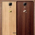 Micromax Canvas 5 Lite, Smartphone Spesial Berbalut Casing Kayu