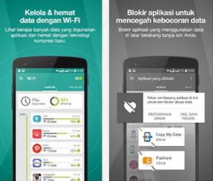 Aplikasi Hemat Data Android