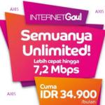 Pilihan Paket Internet Axis 24 Jam, Unlimited, OBOR dan BB