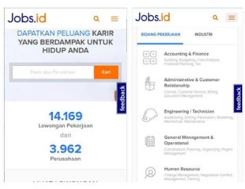 Aplikasi Lowongan Kerja Indonesia
