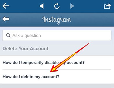 Hapus Akun Instagram Permanen