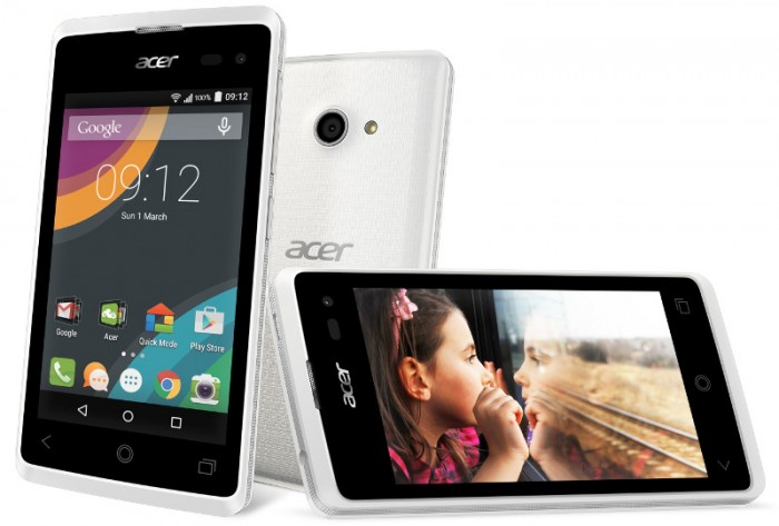 Acer Liquid Z220, Smartphone Sejutaan Dengan OS Android Lollipop