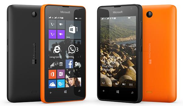 Lumia 430, Smartphone Windows Phone Sejutaan Berlayar 4 Inchi