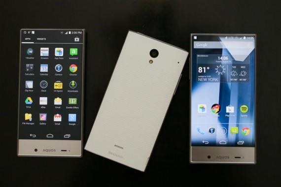 Sharp Aquos Crystal, Smartphone Tanpa Bezel Dengan Layar 5 Inchi