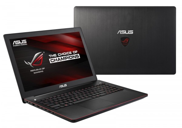 ASUS ROG GL552JX, Laptop Gaming ASUS Entry-Level Layar 15 Inchi