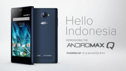 Spesifikasi Andromax Q, Smartphone Sejutaan Dengan OS Cyanogen