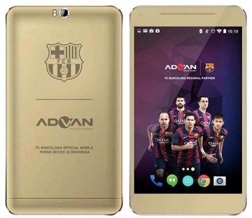 Advan Barca Tab 7 T1X, Tablet Android Sejutaan Prosesor Octa-Core