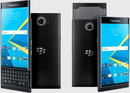 BlackBerry Priv, HP BB Dengan OS Android 5.1 Touchscreen + QWERTY