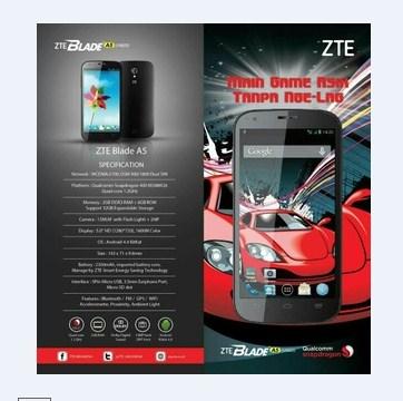 ZTE Blade A5 V9820