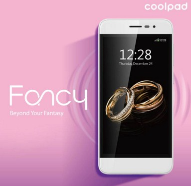 Coolpad Fancy, Smartphone Layar 4.7 Inchi 2.5D Arc Glass Design