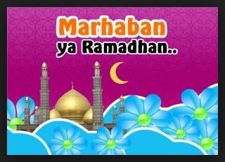 DP BBM Marhaban Ya Ramadhan Unik