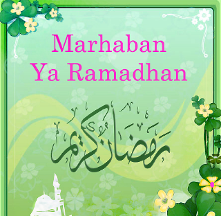 DP BBM Marhaban Ya ramadhan Lucu