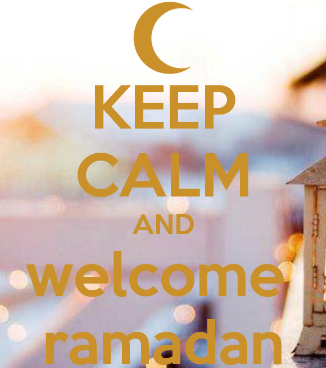 Keep Calm Welcome Ramadhan