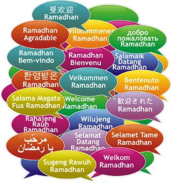 Selamat Ramadhan Berbagai Bahasa