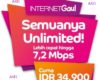 Paket Internet Axis 24 Jam, Unlimited, OBOR dan BB