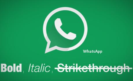 Cara Membuat Tulisan Tebal, Miring, Dicoret dan Terbalik di WhatsApp (WA)