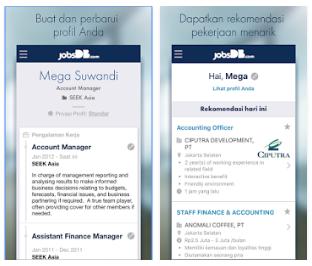 Aplikasi Loker Android
