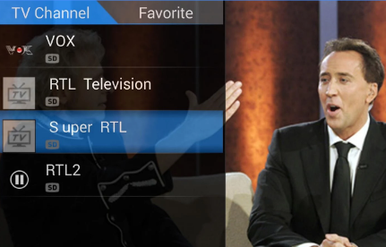 Setting TV Tuner di Android