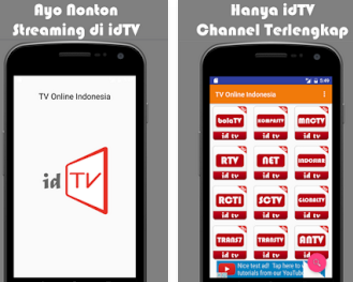 Aplikasi Streaming TV Indonesia