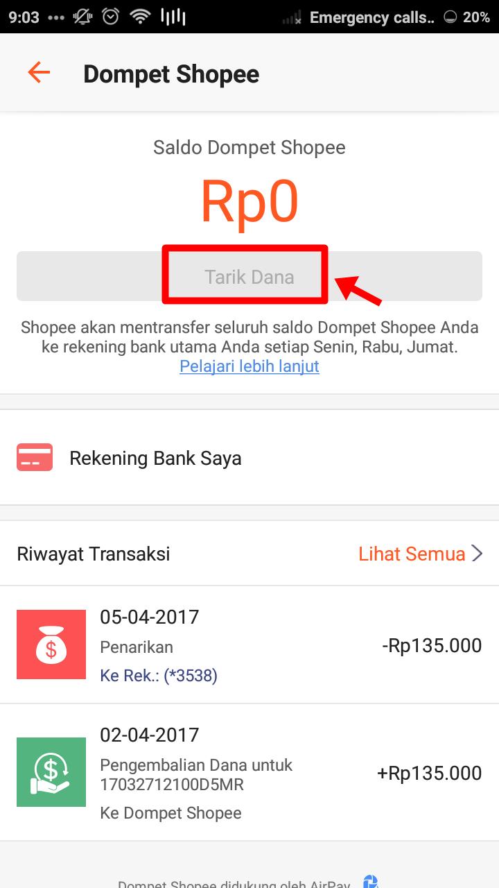 Refund Shopee