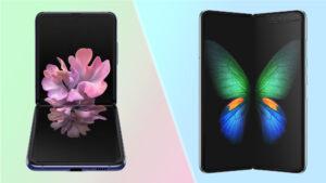 Spesifikasi Samsung Z Flip dan Z Fold